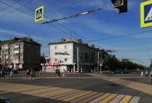 Первый диагональный пешеходный переход появился в Дзержинске