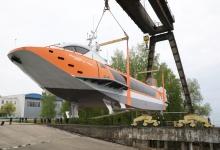 Пятое судно на подводных крыльях «Валдай 45Р» спущено на воду в Нижегородской об