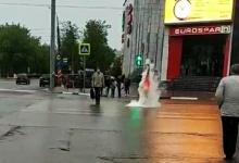 Блогер из Дзержинска вылил на себя неизвестное вещество