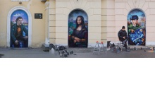 Дзержинские фасады принимают Гогена